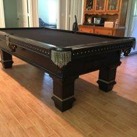 Renegade Skull Cover Black Pool Table