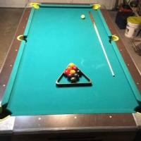 7' Dynamo Pool Table