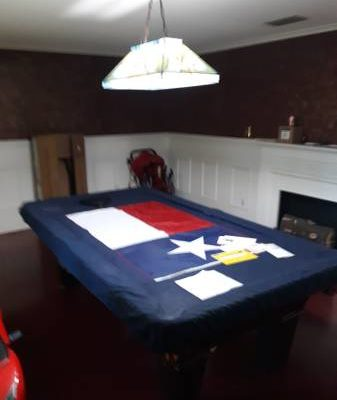 3 Peice Slate 8 Foot Pool Table Condition Great