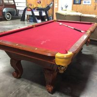 Pool Table With All Accessories