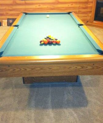 Brunswick Pool Table, Etc.