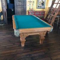 Pool Table & Cues