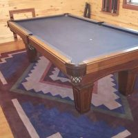 Olhuasen. 9foot Pool Table And Accessories