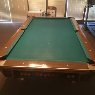 Fischer Pool Table